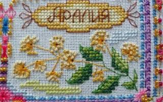 Оберег для дома вышивка крестом схемы