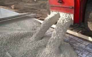 Руководство по работе с бетоном