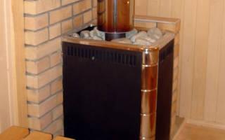 Как правильно поставить печь в бане
