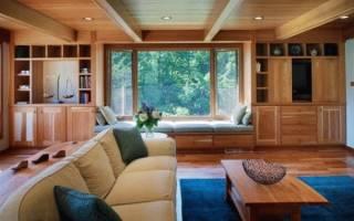 Чем отделать потолок на даче недорого?