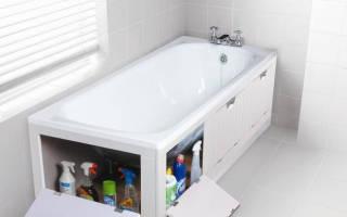 Установка экрана под акриловую ванну