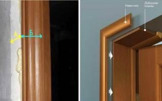 Что такое доборы для межкомнатных дверей фото?