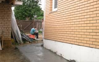 Руководство по устройству отмостки из бетона