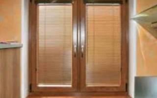 Ламинированные окна в интерьере фото