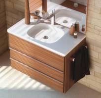 На какую высоту вешать раковину в ванной