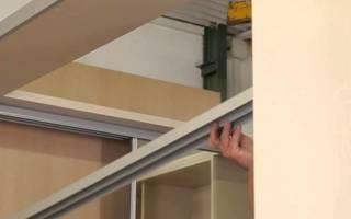 Встроенный шкаф из гипсокартона своими руками