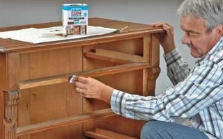 Как обновить старый шкаф из ДСП