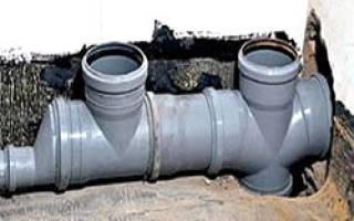 Замена сливной трубы в ванной