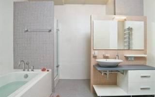 Перегородки в ванной комнате своими руками