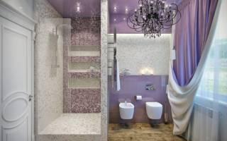 Дизайн душевых кабин в ванной комнате