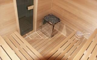 Как постелить пол в бане из досок?