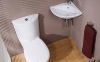 Ремонт в маленьком туалете своими руками