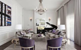 Красивые гостиные в классическом стиле интерьер фото