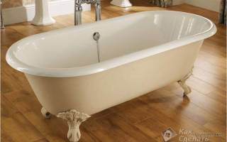 Как укрепить ванну чтобы не шаталась?