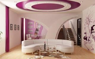 Как сделать красивый потолок своими руками?