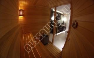 Домашняя сауна в квартире фото цена