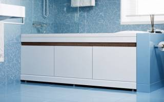 Как прикрепить экран к акриловой ванне?