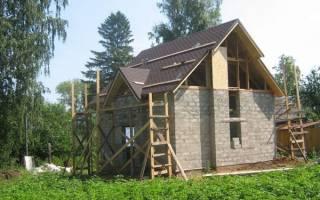 Основные этапы строительства дома из пеноблоков