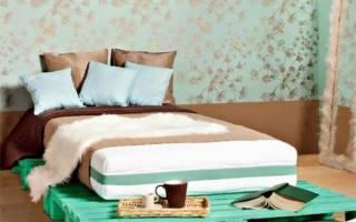 Кровати из поддонов фото