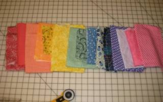 Одеяло из квадратиков с наполнителем