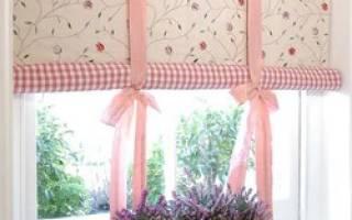 Рулонная штора своими руками пошаговая инструкция фото