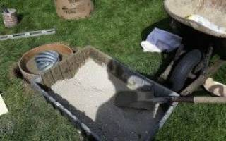 Технология возведения фундамента стаканного типа