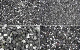 Особенности фракций щебня для бетона