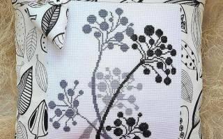 Схеми вишивок хрестиком подушок скачати безкоштовно