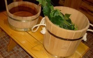 Как правильно запарить веник для бани?