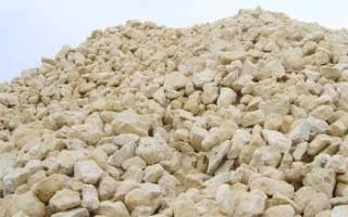 Характеристики и применение известнякового щебня