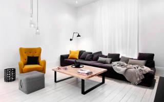 Как сочетать цвета в интерьере гостиной?