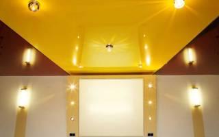 Как отремонтировать натяжной потолок порез