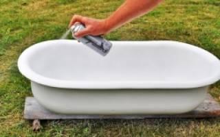 Реставрация ванн своими руками в домашних условиях