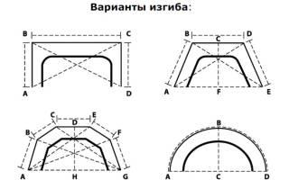 Карниз для эркера потолочный