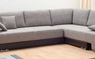 Размеры углового дивана для гостиной