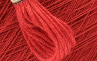 Как называются нитки для вышивания