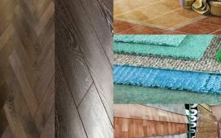 Чем застелить пол в деревянном доме?