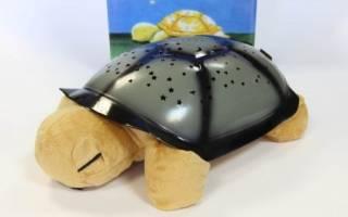 Ночник черепаха звездное небо с музыкой