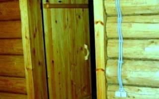 Двери в баню деревянные фото