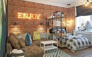 Декоративный кирпич в квартире