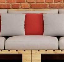 Как сделать диван из поддонов?