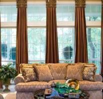 Дизайн окна в гостиной фото