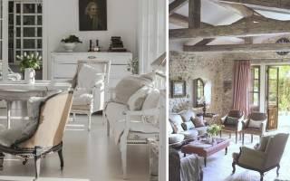 Угловые диваны в стиле прованс