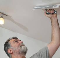 Как правильно зашпаклевать потолок под покраску?