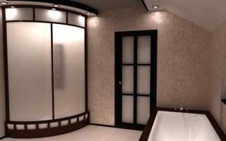 Планировка туалета в частном доме