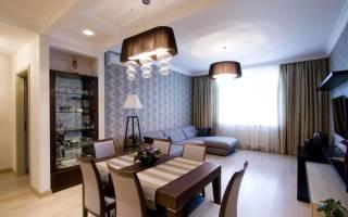 Столовая гостиная дизайн фото