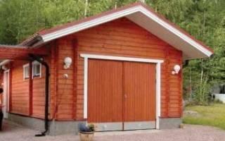 Стандартный размер гаража на 1 машину