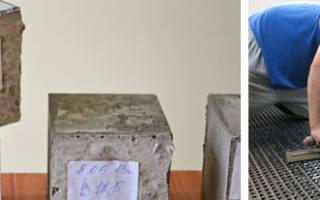 Марки и характеристики бетона