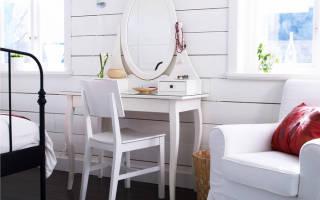 Туалетный столик с зеркалом фото икеа