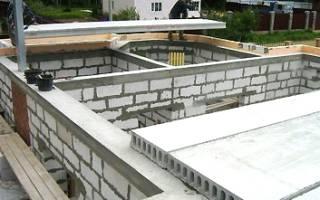 Правила монтажа перекрытия дома из плит